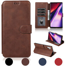 For Samsung Galaxy Note 10/Plus Phone Case Leather Wallet Magnetic Flip Card