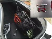 Envelope Style Trunk Cargo Net For NISSAN GT-R GT R 09 - 18 NEW FREE SHIPPING