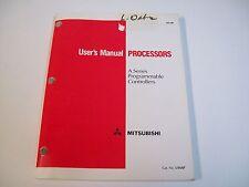 Mitsubishi Umap Processors User'S Manual - Used - Free Shipping