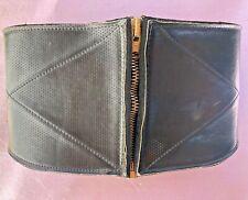 Vintage Cafe Racer Kidney belt 1950's/60's Huge Talon Zipper MINT! Condition!!!!