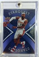 2008 08 Upper Deck Starquest Cyan Rare Lebron James #SQ-17, Insert, Cavs
