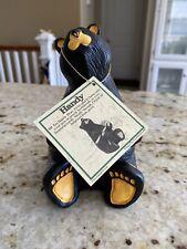 "Big Sky Carvers Bearfoots ""Handy"" Black Bear Collection Jeff Fleming"