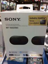 Sony WF-1000XM3 Wireless Noise Cancelling In Ear Headphones - Black