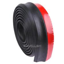 2.5M Car Front Bumper Lip Splitter Body Spoiler Skirt Rubber Protector Foam E0Xc