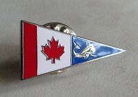 Canada Canadian Coast Guard Enameled Silver Plated Lapel Pin