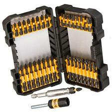 Dewalt Extreme 34pc Screwdriver Bits Set Impact Pozi Philips Magnet Bit Holder
