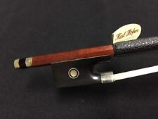 Karl Hofner H8/10-VR H810VR Full Violin/ Viola Oct. Pernambuco Nickel Bow NEW