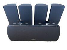 Definitive Technology ProCinema 600 Surround Sound Speaker System Set Lot of 5