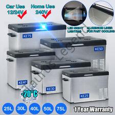 25L,30L,40L,50L,75L Portable Fridge Freezer 12V/24V/240V Camping Car Caravan
