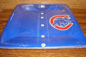 "MLB * CHICAGO CUBS Baseball Party-10 1/2"" in. Plates  #18 Count  package * New"