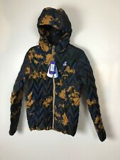 K-Way Men's Marten Light Thermo Graphic Down Jacket Camo Sz M Slim Fit NEW