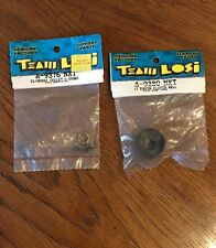Losi A9376 Flywheel Collet & Shims 17 T Clutch Bell A9380 NXT GTX Rc Part Lot