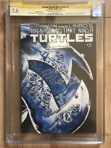 Teenage Mutant Ninja Turtles 2 2nd App Turtles Eastman Signed! 1st Ed 2nd Pr CGC