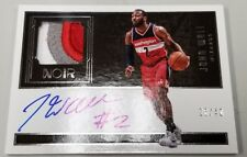 2016 2017 16-17 JOHN WALL WIZARDS NOIR GAME WORN 3 COLOR PATCH RELIC AUTO # / 40