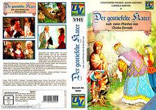 """VHS """" il gatto con gli stivali Cannon Film Valle """" 1986 Christopher Walken"""