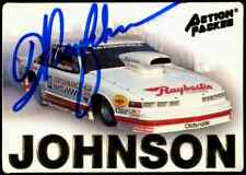 Warren Johnson Action Packed NHRA Authentic Hand Signed Autographed Trading Card