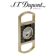 More details for new st dupont cohiba behike collection - double blade cigar cutter - 003511