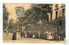 PUTEAUX (92) La POSTE , facteur et son vélo 1905