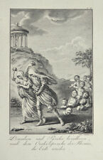 1791 Horace jadis Deucalion et Pyrrha peupler la terre Repopulate the Earth