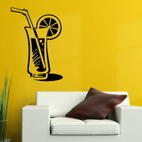 Cocktail Bar Swing Art Wall Decal / Decor Transfer Removable Vinyl Decal RA120