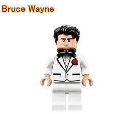 Bruce Wayne Batman Custom minifigura lego si adatta