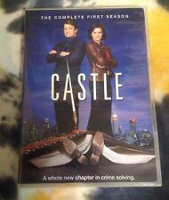 CASTLE complete season 1 DVD set - Nathan Fillion / Stana Katic ABC Studio