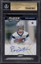 2017 Ryan Switzer Panini NFL Player of Day Rookie Card #RC Autograph /40 BGS