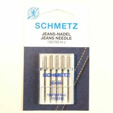 Schmetz Needles - Jeans, Size 110/18 - Hangsell pack of 5 needles