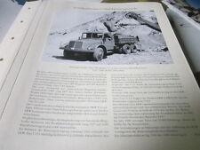 Nutzfahrzeug Archiv 3 Sonderthemen 3190 Firmengeschichte Tatra T 111S Kipper