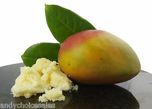 Mango Butter 25g - 1kg Pure Cosmetic Grade for Hair, Skin, Soap and Moisturiser