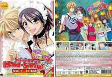 Japan Anime KAICHOU WA MAID-SAMA! Complete TV Series (1-26) +OVA Eng Subtitle