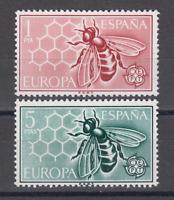 ESPAÑA (1962) MNH NUEVO SIN FIJASELLOS SPAIN - EDIFIL 1448/49 EUROPA CEPT