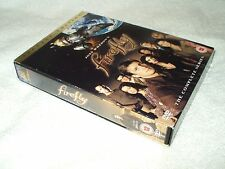 Firefly - The Complete Series (DVD, 2004, 4-Disc Set, Box Set) & card slipcover