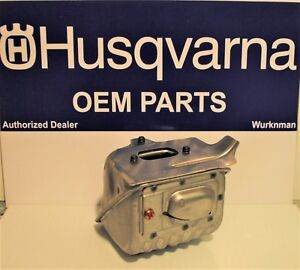 Genuine OEM  Husqvarna 575743002 Muffler Kit for 455 & 460 Rancher