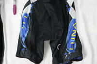 Luna Bike bicycle Cycling shorts Women's Athlete Black made in USA Small Padded
