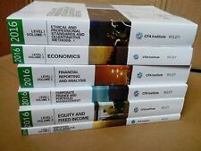 2016 CFA Level 1 Official Curriculum Textbooks by CFA Institute