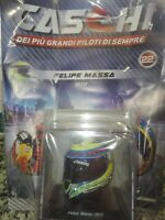 FELIPE MASSA 2017 HELMET  CASCHI  FORMULA 1 COLLECTION #22 - 1:5 MOC
