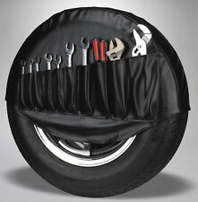 VW Spare Tire Cover Tool Holder Organizer - Black (1950-1977 Volkswagen Beetle)