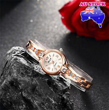 Ladies Watch 18K Gold  Dial With  Swarovski Diamond  Alloy Strap