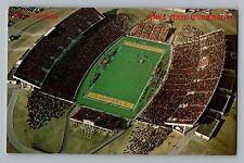 Ames Iowa IA State University ISU Cyclones Big 8 Football Stadium Postcard 1970s