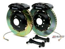 Brembo FRONT GT Brake BBK 4 Piston Black 328x28 Slot Integra 90-01 4x100 DA DC