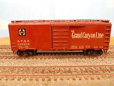 "HO SCALE KAR-LINE SANTA FE ATSF 146285 ""GRAND CANYON LINE"" 40' BOX CAR"