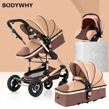 Baby Stroller 3 In 1 Lightweight Stroller Baby Car High Landscape Stroller