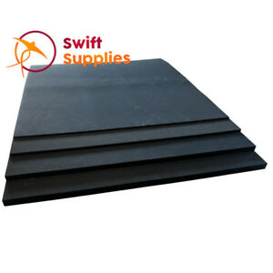 Neoprene Sponge Rubber Sheet (Closed Cell, Non Adhesive) - 2mm x 480mm Square