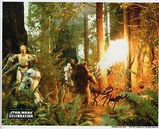 "Kevin Thompson Autograph Signed 8x10 Photo - Star Wars ""Ewok"" (Zobie COA)"