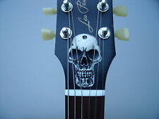 Les Paul TRUSS ROD COVER 3d Skull Custom Made
