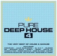 Various  - Pure Deep House 4 –  The Very Best of House & Garage  NEW SEALED 3CD