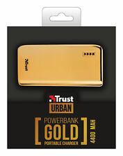 Vendita Inverno fiducia 20901 4400 mAh 4400 Gold, color oro portatile Power Bank