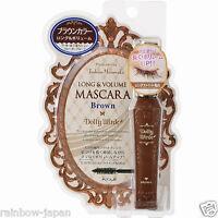 Koji Dolly Wink Long & Volume Mascara Brown Waterproof Make Up From Japan