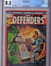 The Defenders #1 (Aug 1972, Marvel) - CGC 8.5